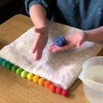How to make felt balls with Rachael Greenland