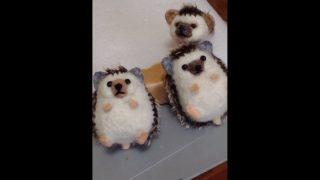 フェルト羊毛  ハリネズミの作り方  #10