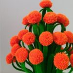 MAKE X-RAY AND WOOLEN FLOWER POT    WOOLEN CRAFT,HOW TO MAKE YARN FLOWERS    VASE OF PLASTIC BOTTLE.