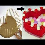 DIY Heart Shaped Basket using Wool / DIY Woolen / Room Decor