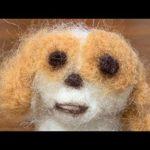 かわいい羊毛フェルトを作ってみた結果・・・  vlog:cute dog