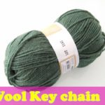 Wool craft ideas | Diy easy bag charm | woolen keychain | waste wool craft ideas | best craft idea